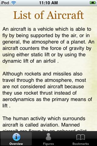 Aircraft Models Pocket Book screenshot #2