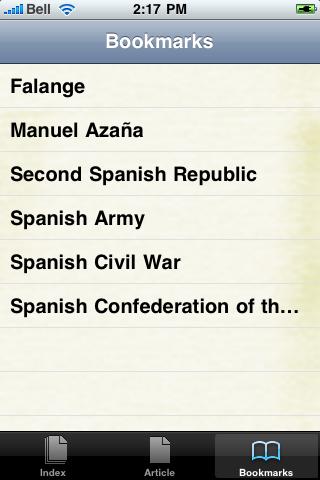 The Spanish Civil War Study Guide screenshot #2