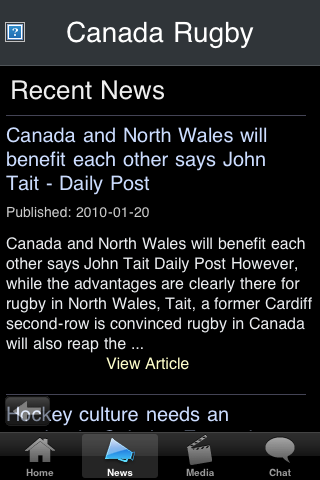 Rugby Fans - Canada screenshot #2