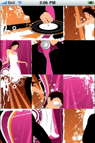 DJ Spinning Slide Puzzle screenshot #3