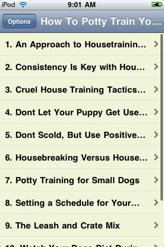 How To Potty Train Your Dog screenshot #2