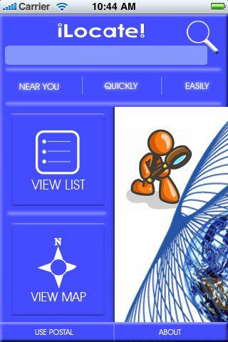 iLocate - Pizza screenshot #1