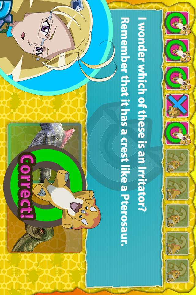 Dinosaur King D-Team Adventures A Dinosaur Pict... screenshot 4