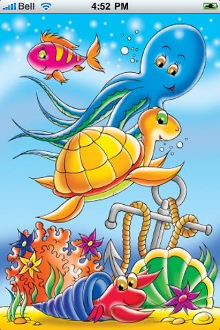 Under the Sea Slide Puzzle screenshot #1