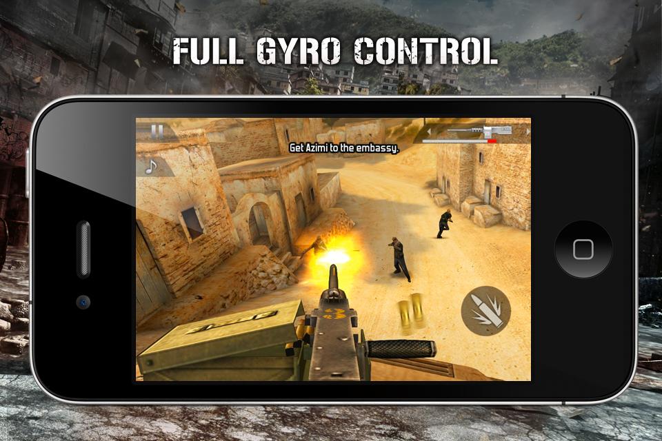 Modern Combat 2: Black Pegasus FREE screenshot #4