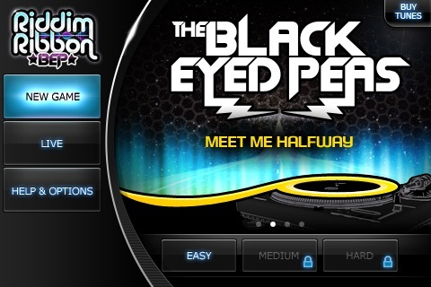 Riddim Ribbon feat. The Black Eyed Peas screenshot 2