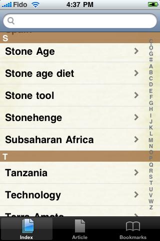 The Stone Age Study Guide screenshot #2