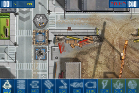 Act of War: Urban Defense screenshot #4
