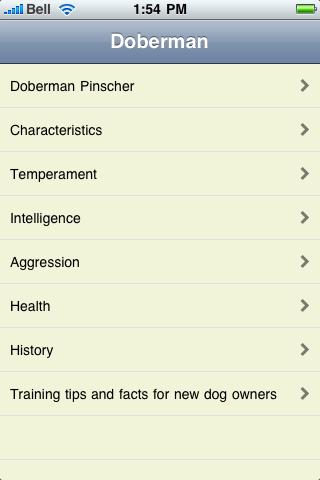 The Doberman Pinscher Book screenshot #1