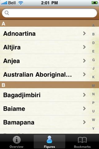Australian Aborignal Mythology screenshot #4