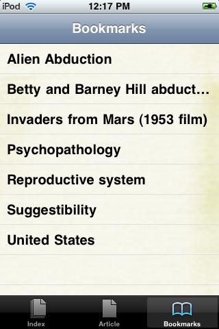 Alien Abduction Study Guide screenshot #3