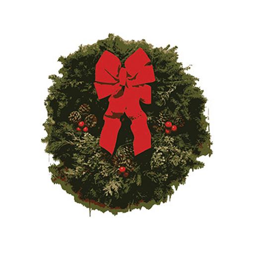 Christmas Wreath Snow Globe