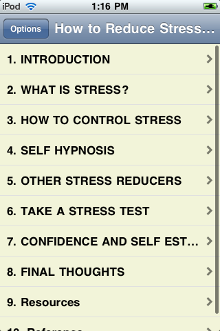 How to Reduce Stress at Work and at Home screenshot #1