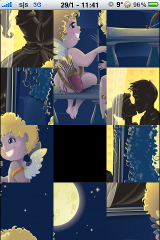 Valentine's Day Slide Puzzle screenshot #2