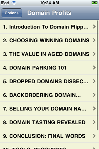 Domain Profits screenshot #2