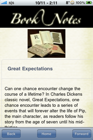 Book Notes - Great Expectations screenshot #3