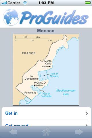 ProGuides - Monaco screenshot #2