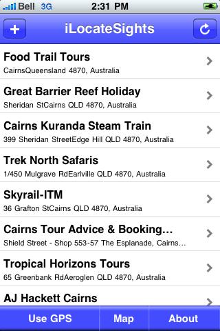 Cairns Sights screenshot #2