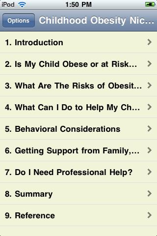 The Childhood Obesity Epidemic screenshot #2