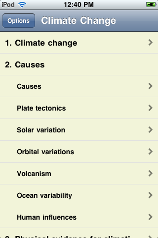 Climate Change - Just The Facts screenshot #1