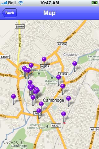 Cambridge, United Kingdom Sights screenshot #1
