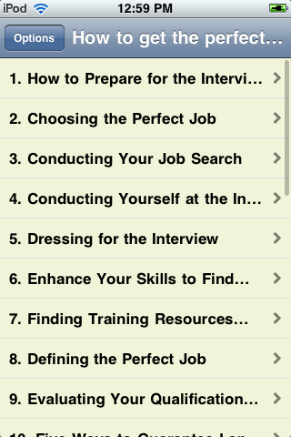 How to Get the Perfect Job screenshot #1