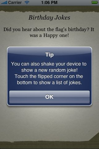 Birthday Jokes screenshot #2