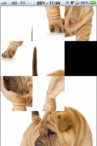 Sharpei Slide Puzzle screenshot #2