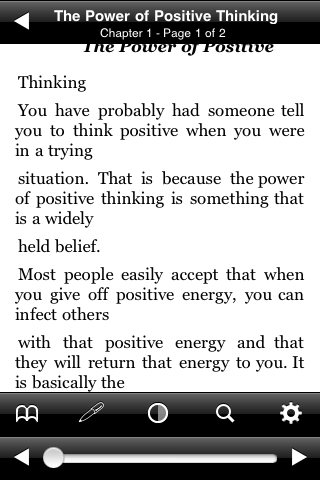 The Power of Positive Thinking screenshot #3