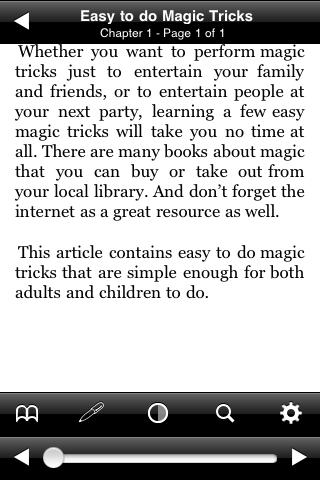 Easy to do Magic Tricks screenshot #2