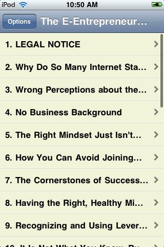 The E-Entrepreneur Success Mindset screenshot #2
