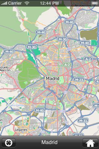 iMapsPro - Madrid screenshot #1