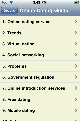 iGuides - Online Dating screenshot #3