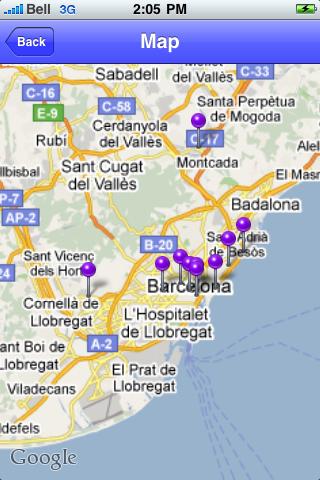 Barcelona Sights screenshot #1