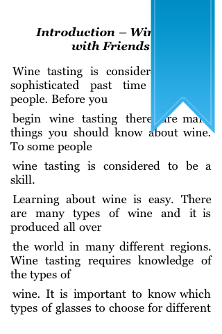All About Wine Tasting screenshot #2