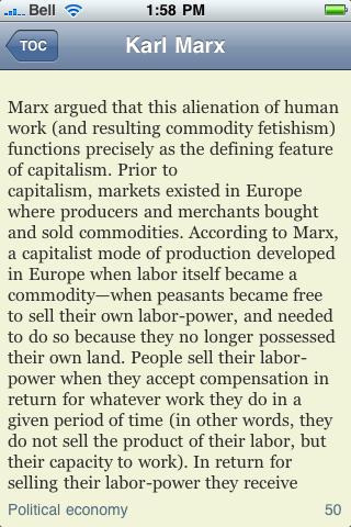 Karl Marx screenshot #2