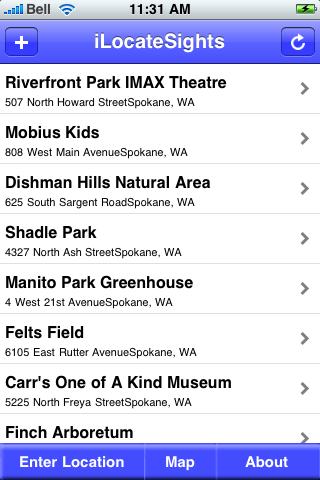 Spokane, Washington Sights screenshot #2