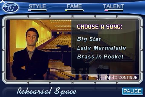American Idol: The Game screenshot #4