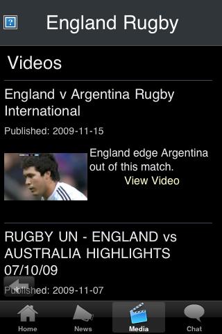 Rugby Fans - England screenshot #3