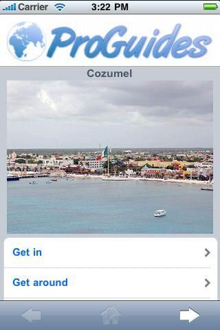 ProGuides - Cozumel screenshot #1