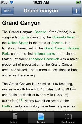 The Grand Canyon Study Guide screenshot #1