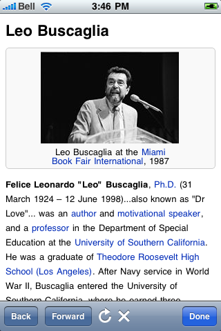 Leo Buscaglia Quotes screenshot #1