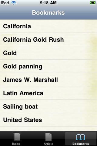 The California Gold Rush Study Guide screenshot #3