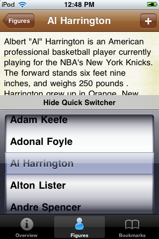 All Time Golden State Basketball Roster screenshot #3