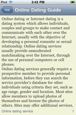 iGuides - Online Dating screenshot #2