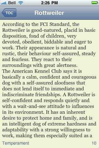 The Rottweiler Book screenshot #3