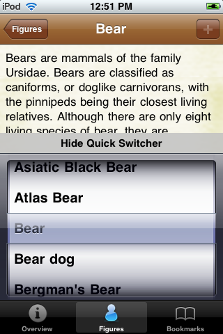 Bear Species Pocket Book screenshot #3