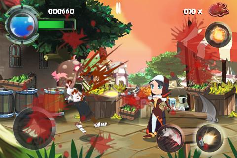 Twin Blades Lite screenshot #2