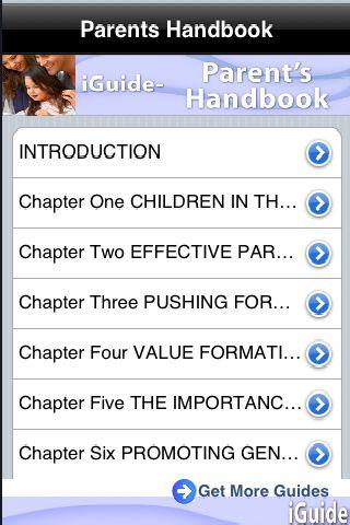iGuides - Parent`s Handbook screenshot #1