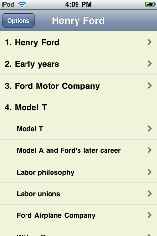 Henry Ford - Just the Facts screenshot #1